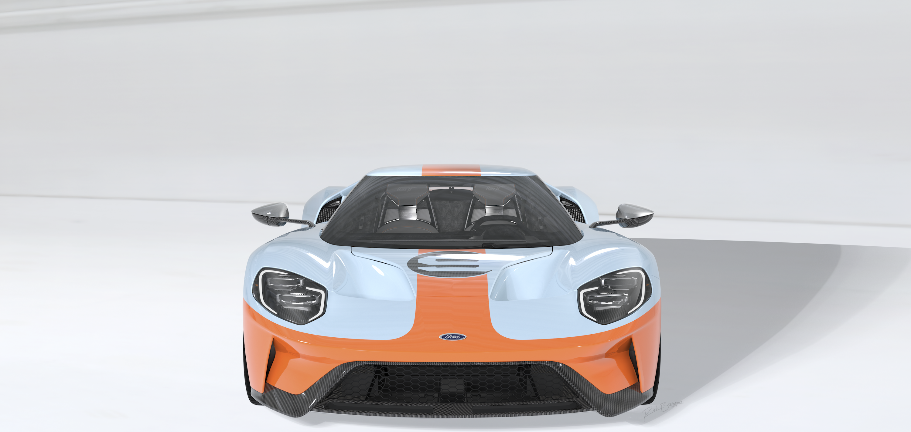 2019 Ford Gt Heritage Edition Is An Exquisite Gulf Liveried Tribute
