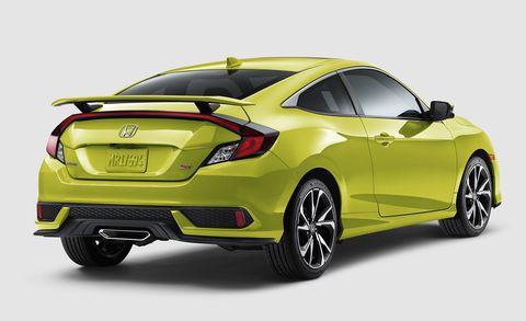 2019 Honda Civic Si New Colors Better Infotainment