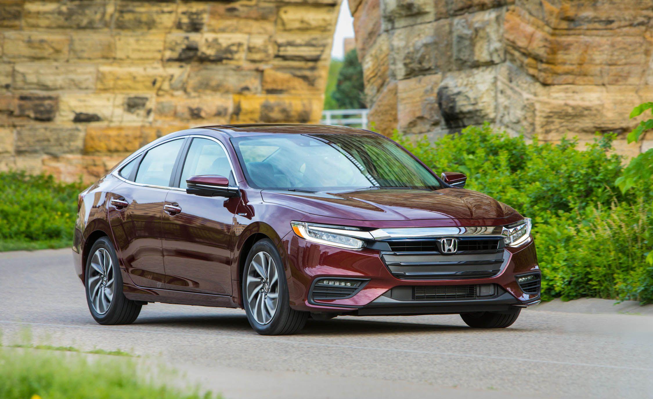 2019 Honda Insight Hybrid Prices Start Under 24 000 News Car And Driver