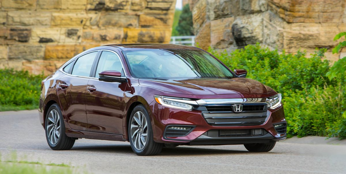 2019 Honda Insight Hybrid Prices Start Under 24 000 News Car And Driver