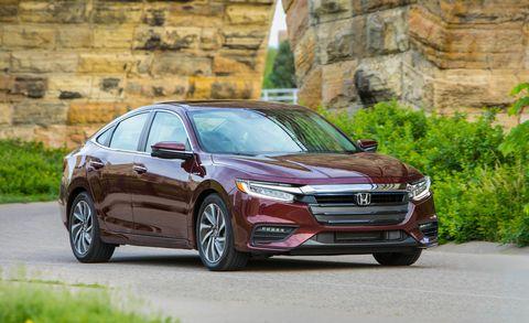 Car And Driver The 2019 Honda Insight