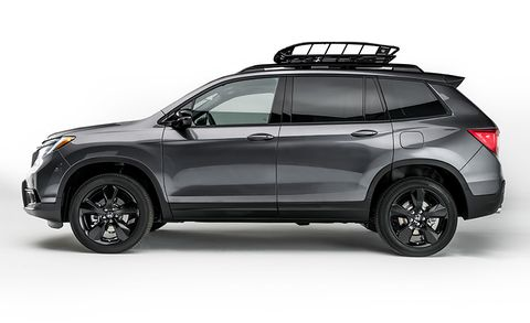 2019 Honda Passport – All-New Two-Row Mid-Size Crossover