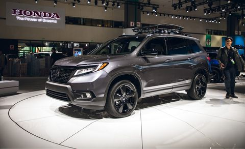 2020 Honda Passport Interior, Specs & Price >> 2019 Honda Passport All New Two Row Mid Size Crossover