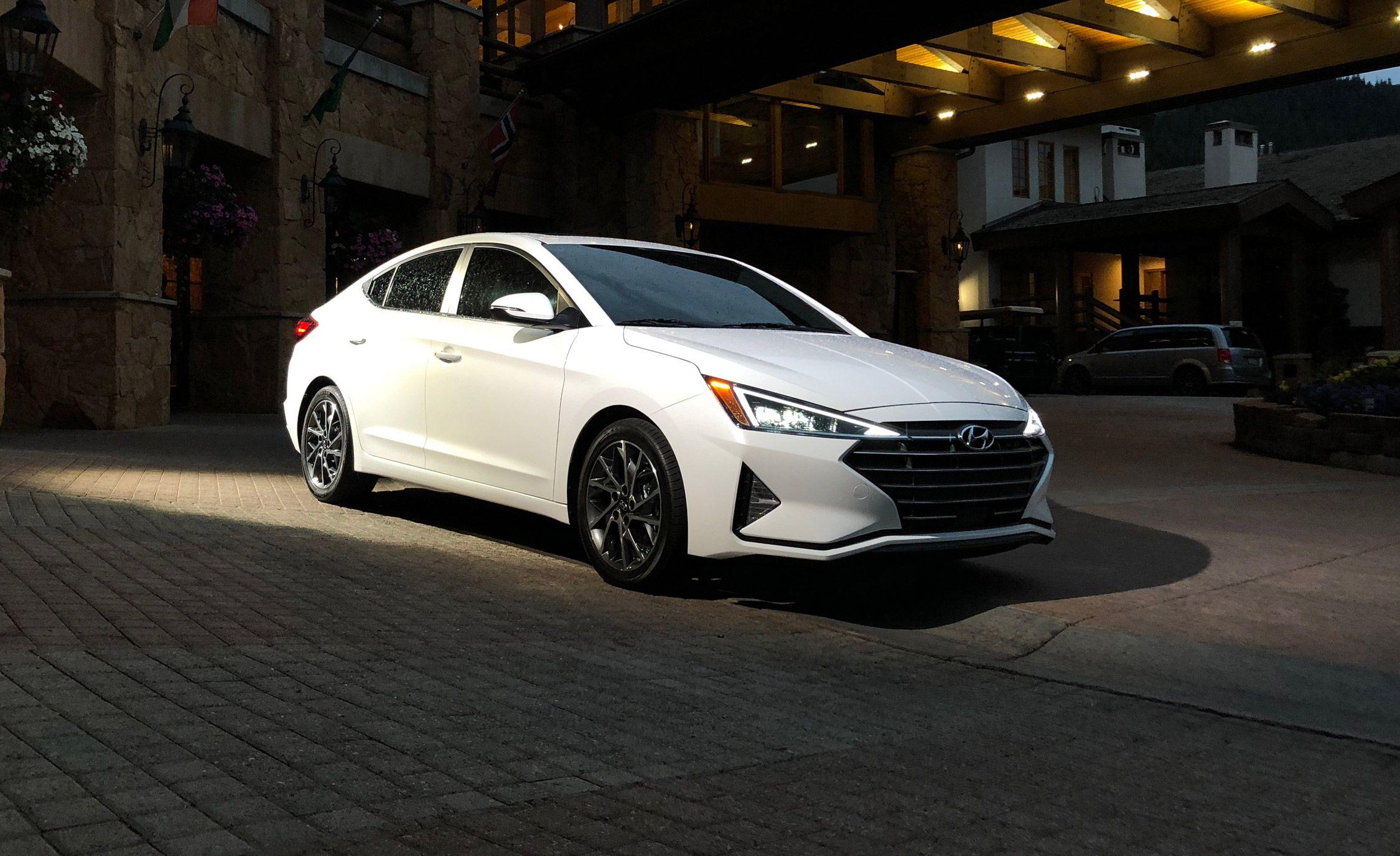 Refreshed 2019 Hyundai Elantra Sedan New Design More Safety Tech