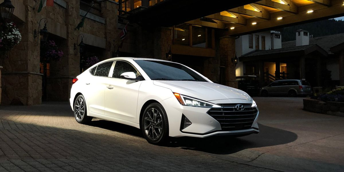 Refreshed 2019 Hyundai Elantra Sedan New Design More