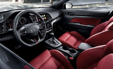 2019 Hyundai Elantra Sport Updated New Styling For The