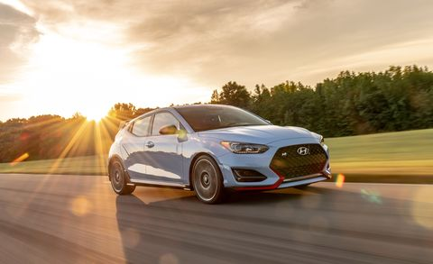 2019 Hyundai Veloster N Performance Package at Lightning Lap 2019