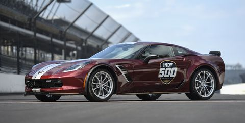 2019 Indy 500 Pace Car Chevrolet Corvette Grand Sport