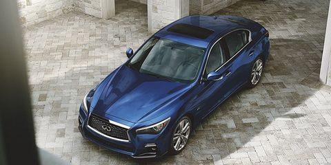 what s special about this 2019 infiniti q50