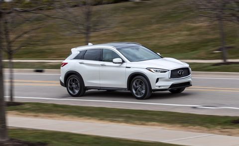 2019 Infiniti QX50 – Luxury SUV with an Unusual Engine