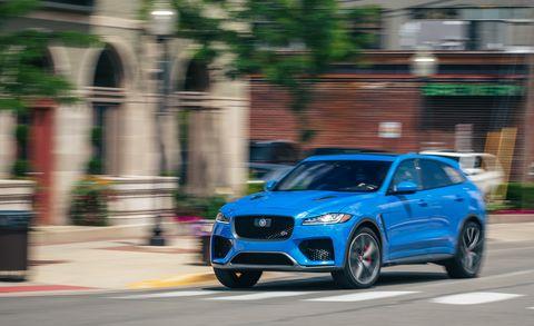 2020 jaguar f pace front