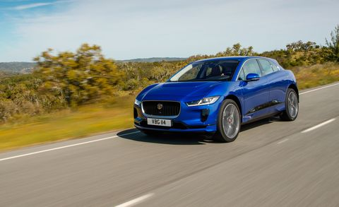2019 Jaguar I Pace First Drive The Electric Crossover Leaps