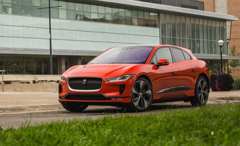 2019 Jaguar I Pace Ev Design Specs Mileage Price >> 2019 Jaguar I Pace Drives Great But Ev Tech Breaks No Ground