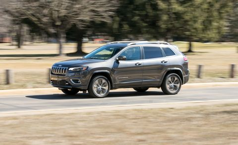 2019 Jeep Cherokee V-6 AWD Test: It's Just Okay | Review