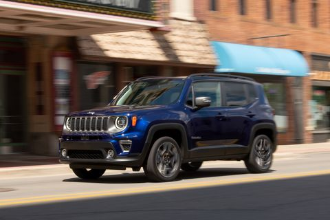 2019 Jeep Renegade Is Just as Cute as Before but Also Just as Slow
