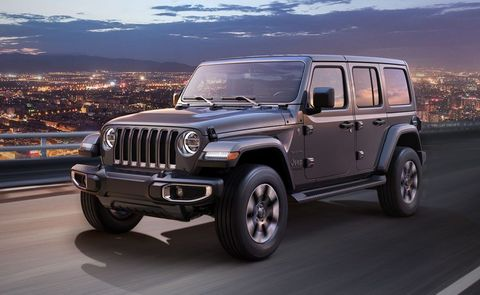 Land vehicle, Vehicle, Car, Automotive tire, Tire, Jeep, Grille, Jeep wrangler, Bumper, Sky,