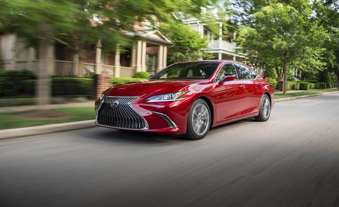 2019 Lexus Es First Drive Elegance Greets Athleticism