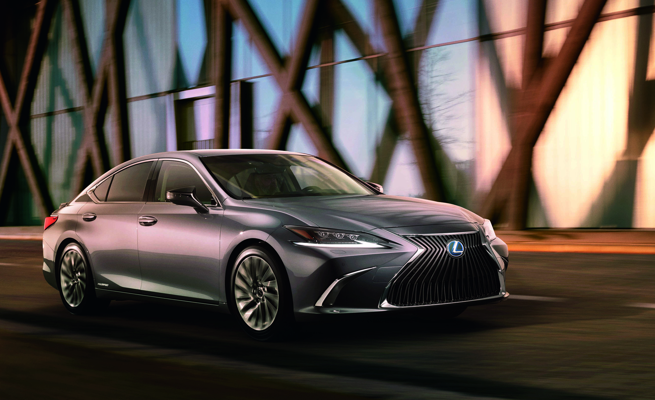 2019 Lexus Es Revealed In First Official Picture News Car And Driver
