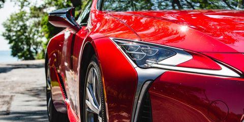 View Photos of the 2019 Lexus LC500