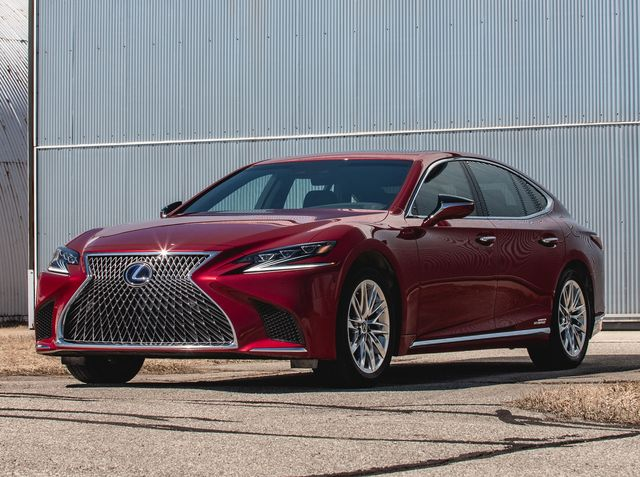2018 Lexus Ls First Drive Not My Father S Ls Motortrend