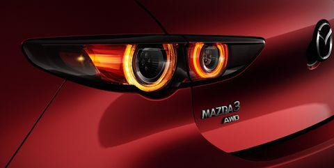 2019 Mazda 3 badge