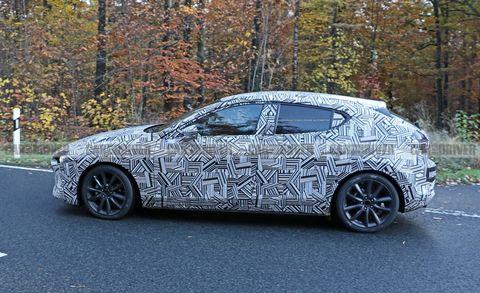 2019 Mazda 3 Spy Photos