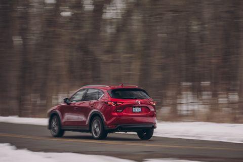 Land vehicle, Vehicle, Car, Automotive design, Compact sport utility vehicle, Mazda, Sport utility vehicle, Mid-size car, Hatchback, Crossover suv,