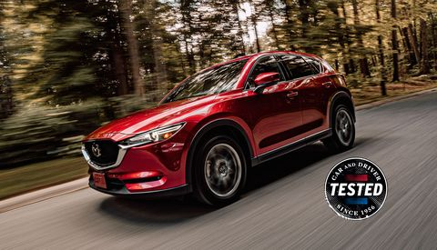 2019 Mazda CX-5 Diesel Beat the EPA's Highway MPG Estimate in Our Testing