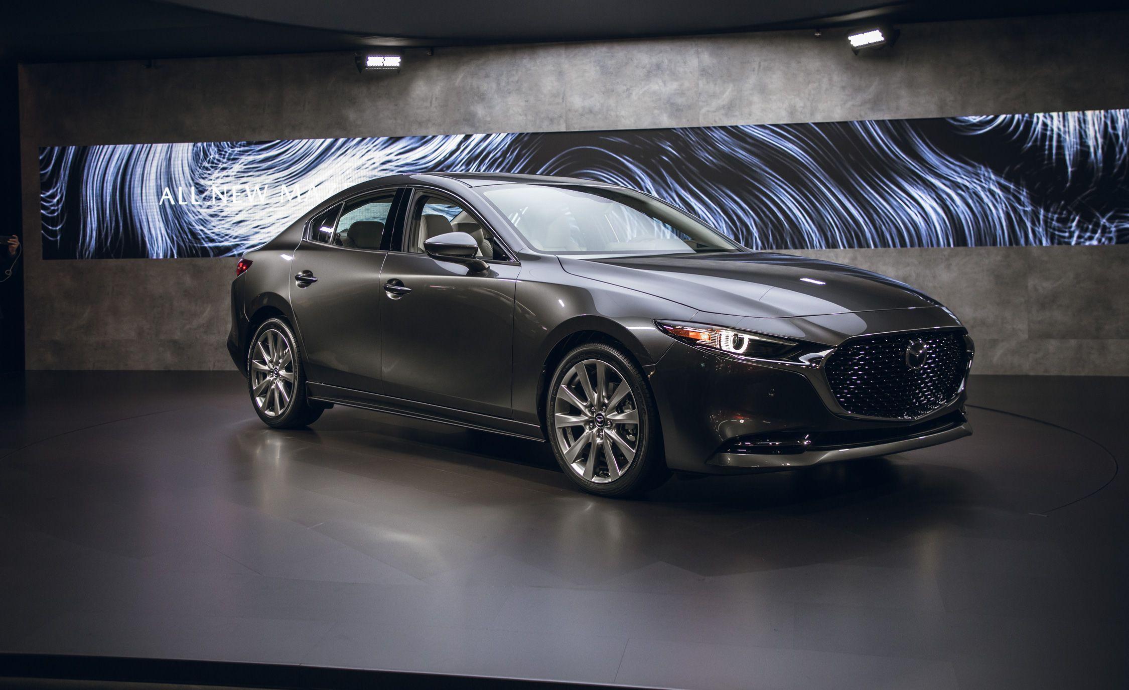 2019 Mazda 3 Revealed Skyactiv Engines Newly Available All Wheel Drive