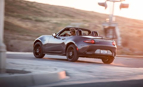 Land vehicle, Vehicle, Car, Automotive design, Mazda mx-5, Mazda, Performance car, Sports car, Convertible, Personal luxury car,