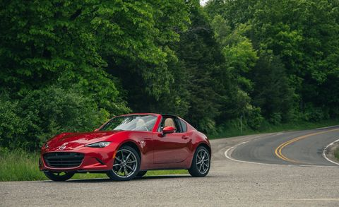 2019 Mazda MX-5 Miata RF Tested – Manual and Automatic
