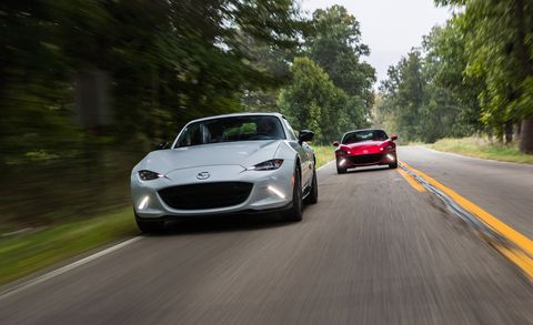 2019 Mazda Mx 5 Miata Rf Tested Manual And Automatic