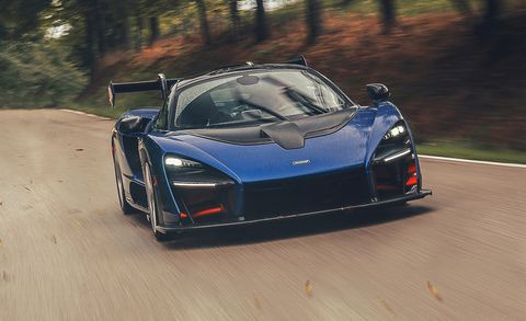 Driving the McLaren Senna Supercar Is Sound and Fury