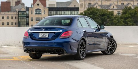 Detailed Photos of the 2019 Mercedes-Benz C300 and Mercedes-AMG C43