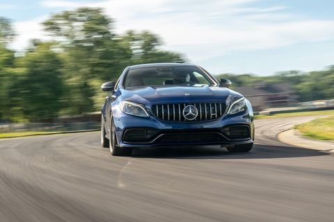 2019 Mercedes-AMG C63 S Coupe at Lightning Lap 2019