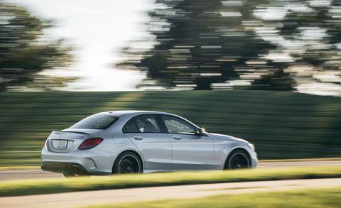 2019 Mercedes-AMG C63 Sedan