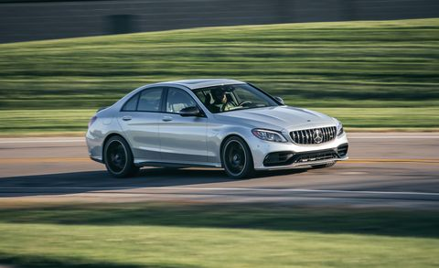 2019 Mercedes Amg C63 Reviewed Mighty Muscular Compacts