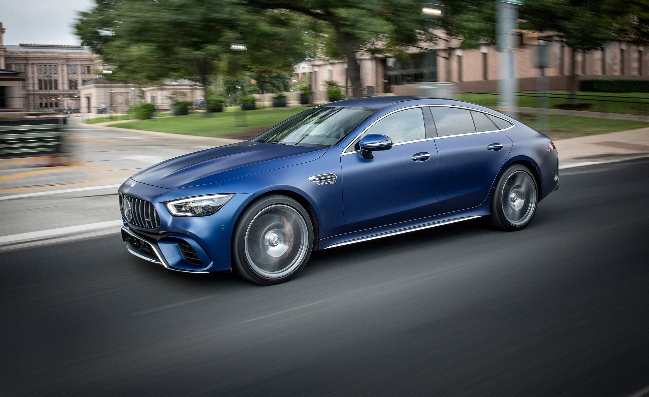 2019 Mercedes Amg Gt 4 Door Is One Furiously Fast Sedan