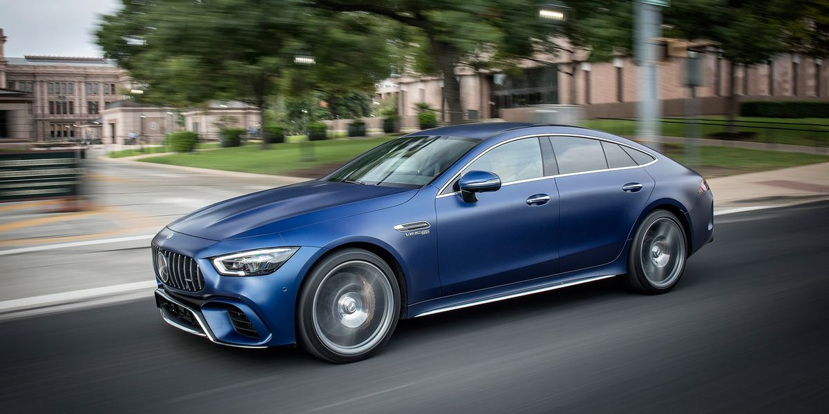 2019 Mercedes-AMG GT 4-Door Is One Furiously Fast Sedan