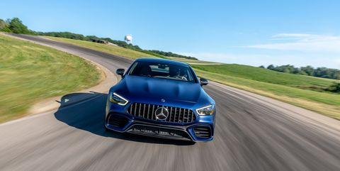 Mercedes-AMG GT63 S Destroys the Lightning Lap Four-Door Record