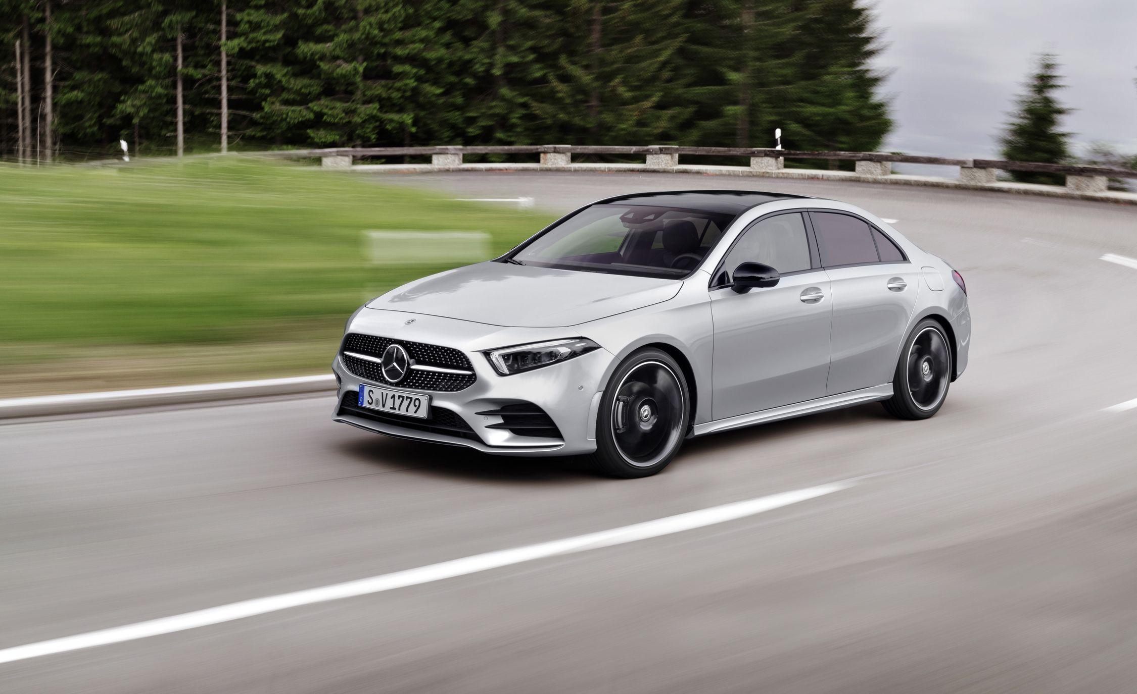 2019 Mercedes A Class Sedan Kicks Off New Gen Of Baby Benzes