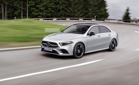 2019 Mercedes Benz A Class Sedan Packs Lots Of Tech And Space News