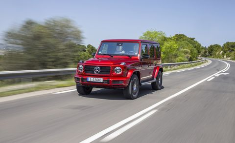 2019 Mercedes-Benz G-class Driven: Less Crazy, Still