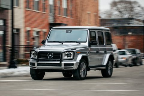 2019 Mercedes Benz G Cl Remains Wonderfully Outrageous