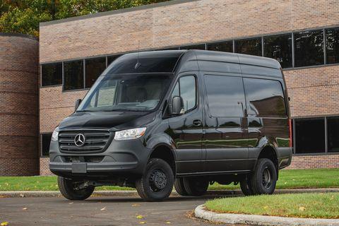 2019 Mercedes Benz Sprinter Goes Big