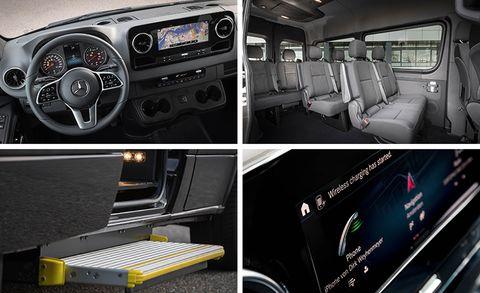 Mercedes Benz Unveils New Esprinter All Electric Van With