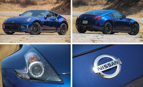 2019 Nissan 370z Manual Test Review Car And Driver