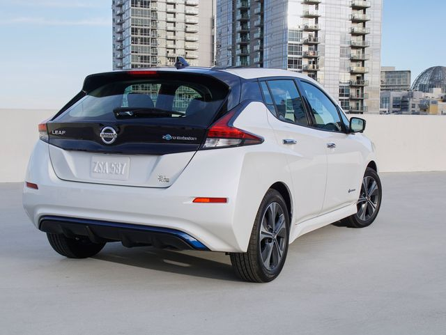 Nissan Leaf Range >> 2019 Nissan Leaf