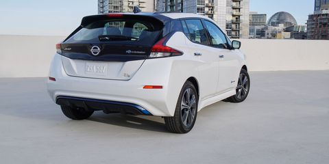 2019 Nissan Leaf Plus Greater Range And Power