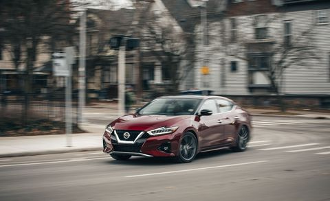 2019 Nissan Maxima – Updated Large Sedan